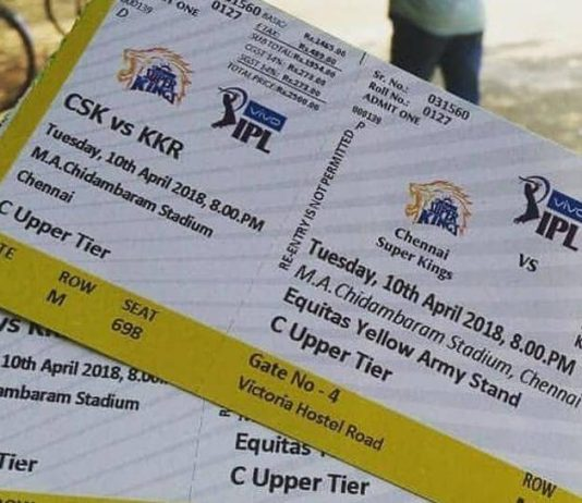 Ipl Tickets Booking
