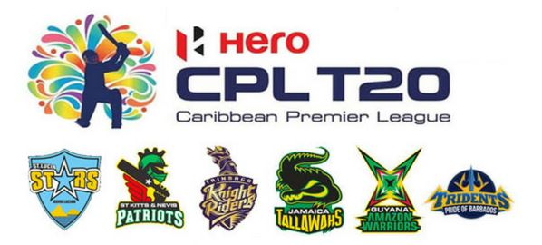 CPL 2018 TEAMS