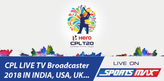 CPL 2018 Live Streaming