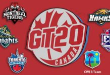 Teams - Global T20 Canada 2020 Teams