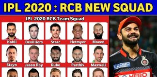 IPL Team - Royal Challengers Bangalore